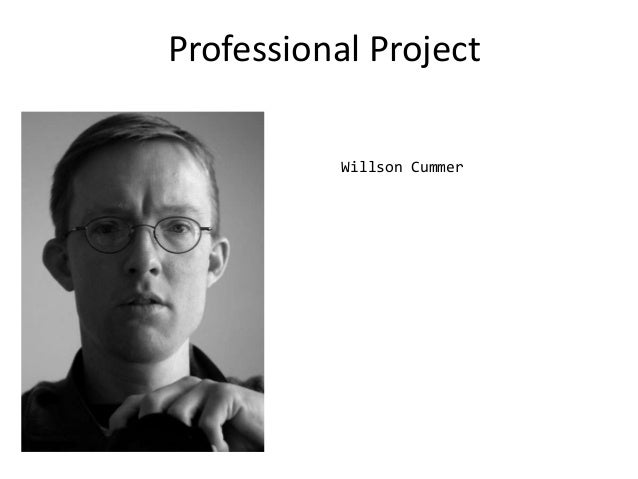 Professional Project Willson Cummer