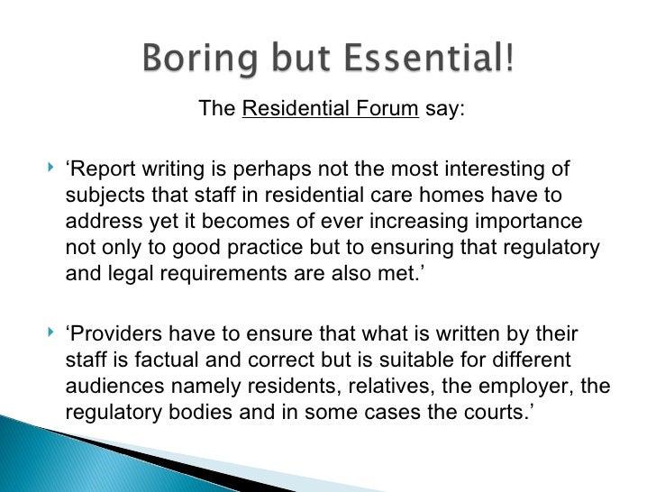 professional report