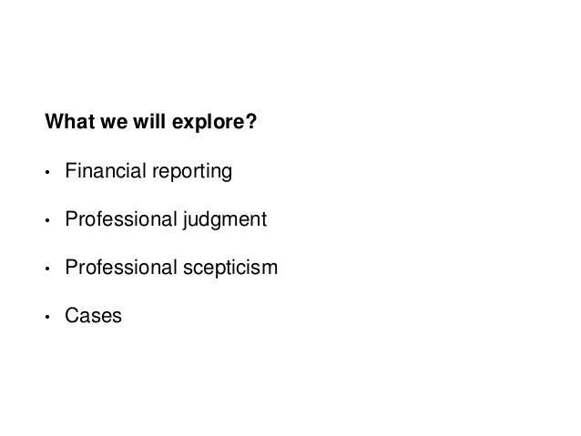 Professional scepticism judgment uia 2 Slide 2
