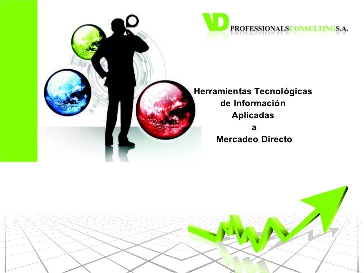 Herramientas Tecnológicas  de Información  Aplicadas  a Mercadeo Directo