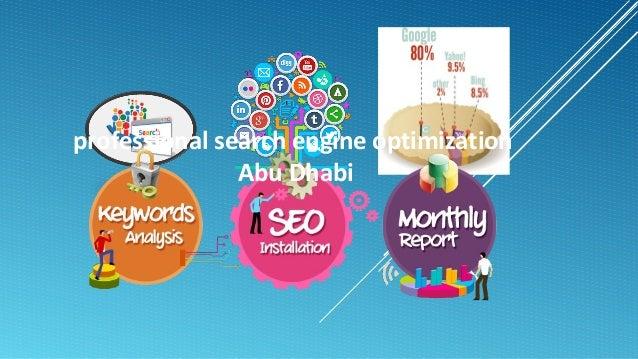 professional search engine optimization Abu Dhabi