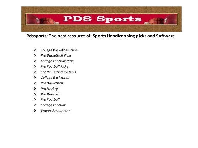 pro football forecast betting handicap software