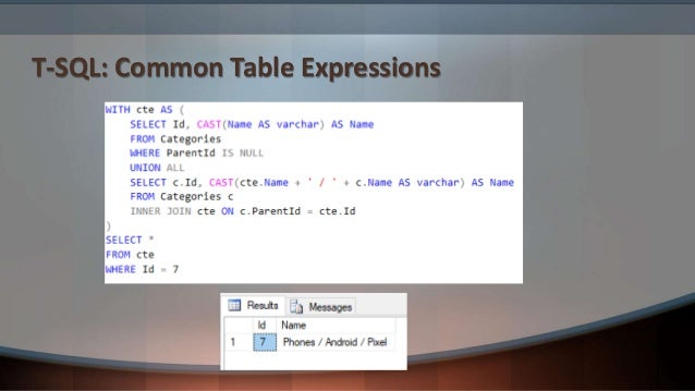 T-SQL: JSON
