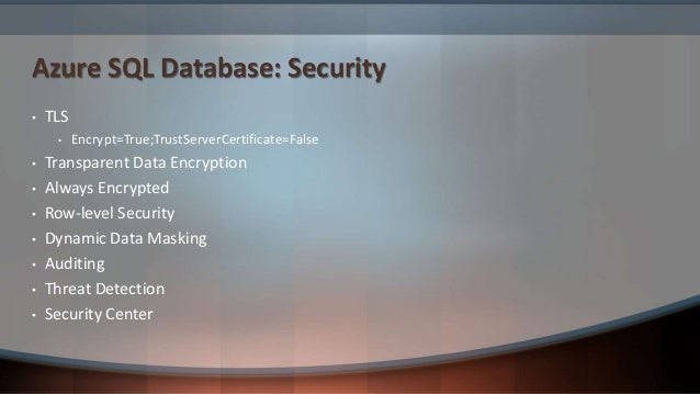 Azure SQL Database: Scalability
