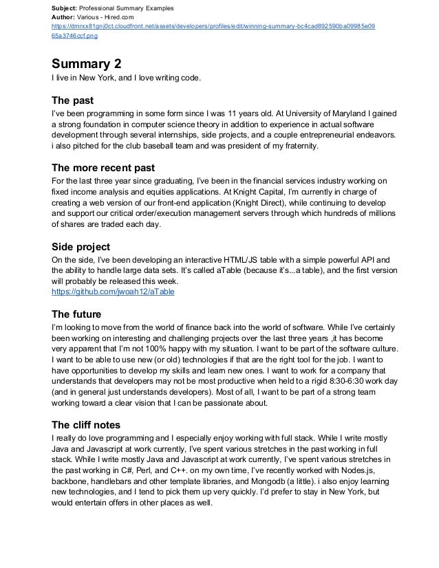 How To Mention Experience In Resume