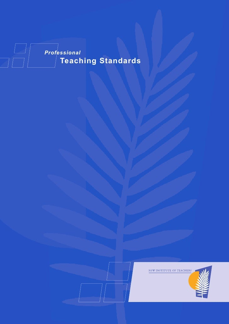 Professional     Teaching Standards          Professional                Teaching Standards                               ...