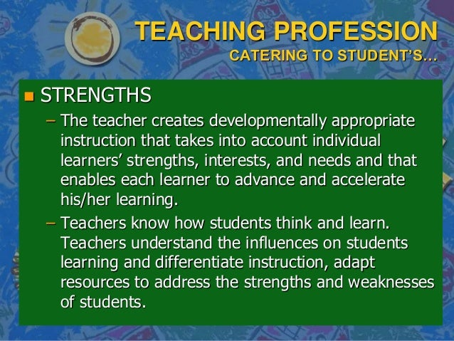 professional teaching standards