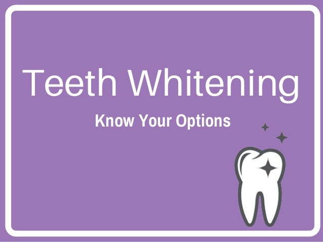 Best professional teeth whitening options