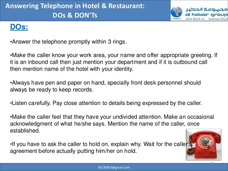 Professional telephone etiquette 12 answering telephone m4hsunfo