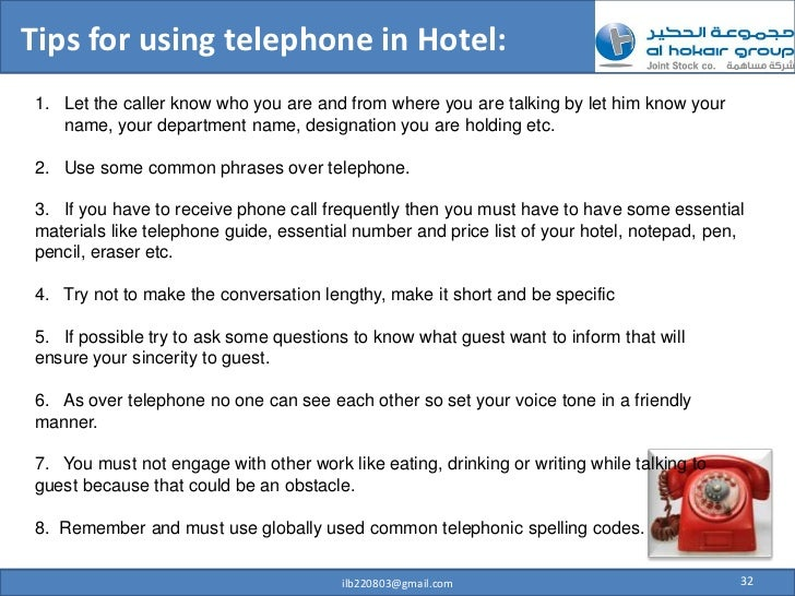 write a short telephone conversation