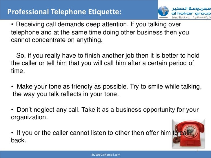 how to end a professional phone message