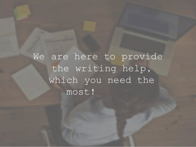 Professional writing online