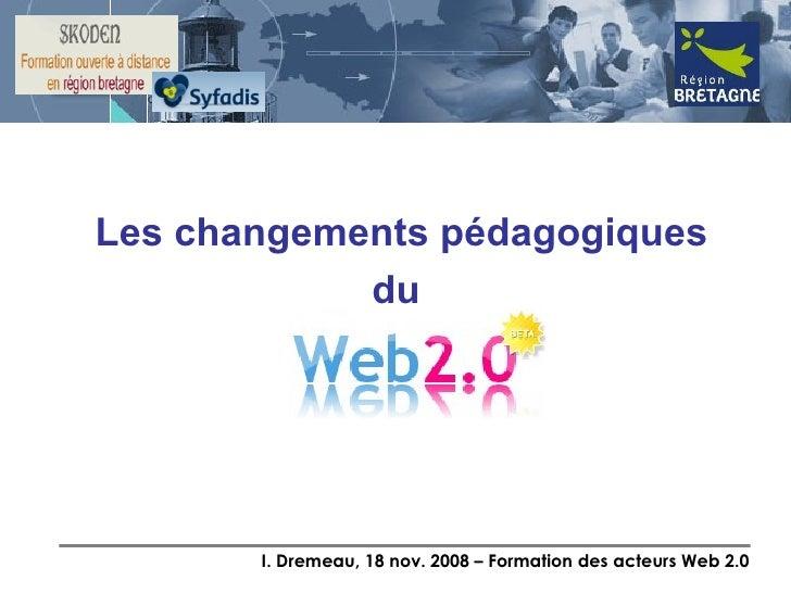 Partie 2: Pédagogie 2.0 et outils pour formateurs Slide 2