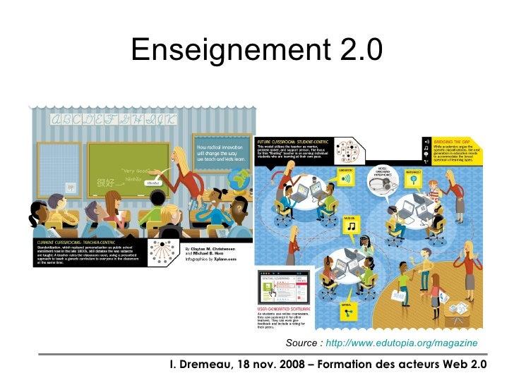 Partie 2: Pédagogie 2.0 et outils pour formateurs Slide 3