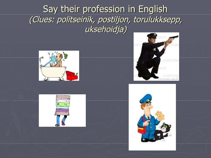 professions slide show presentation