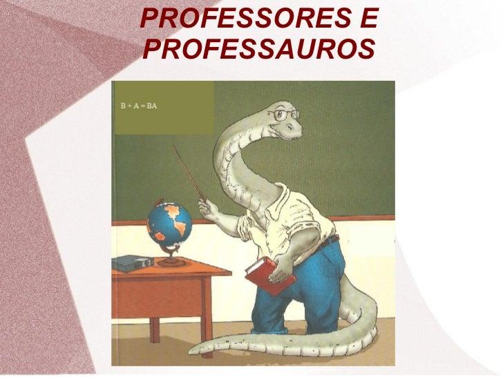 PROFESSORES EPROFESSAUROS
