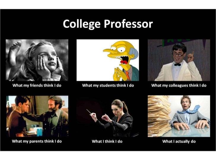 Professors meme