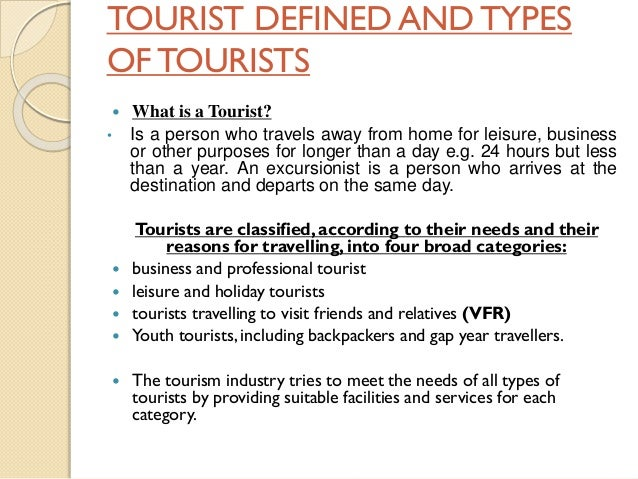 forms of tourism Tourist definition, a person who is traveling, especially for pleasure see more.