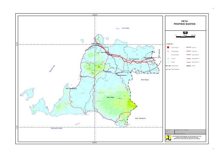 Profil Penataan Ruang Banten