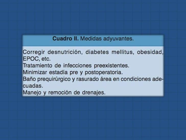 Profilaxis antibiotica y antitrombotica