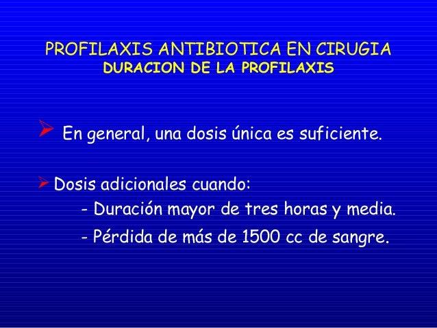 Profilaxis Quirurgica