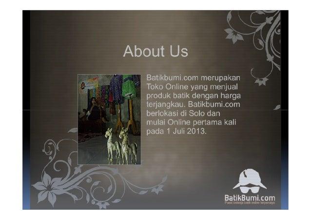 Batikbumi Company Profile