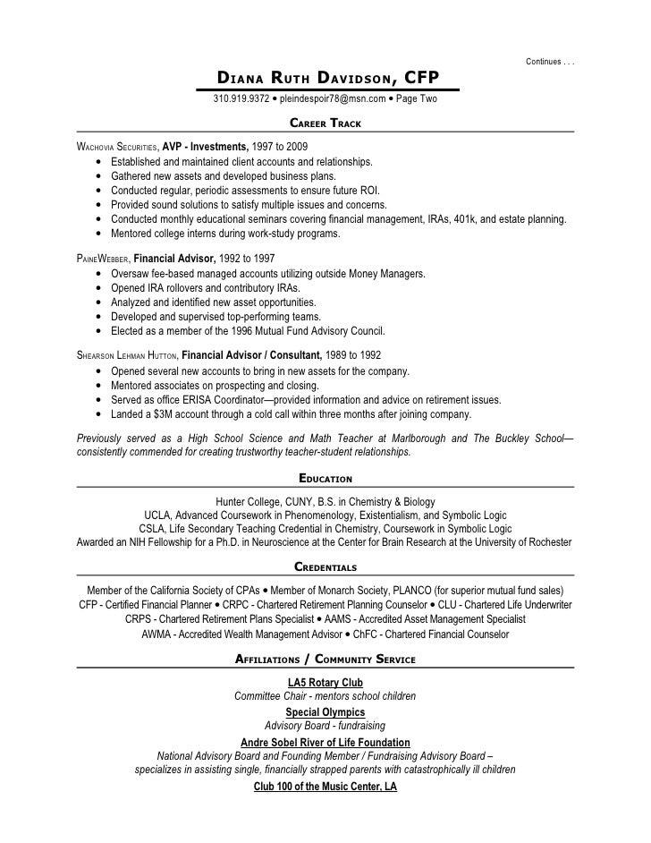 Diana Davidson Resume