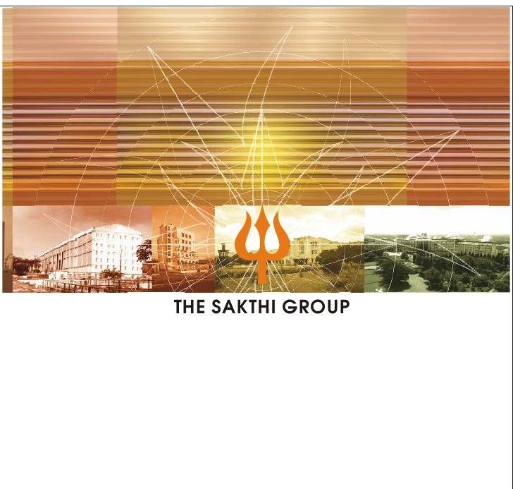 THE SAKTHI GROUP