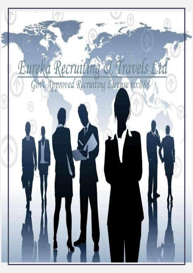 About EurekaIt began when Eureka Recruiting & Travels Ltd, was formed in 1979. Eureka Recruiting& Travels Ltd is a license...