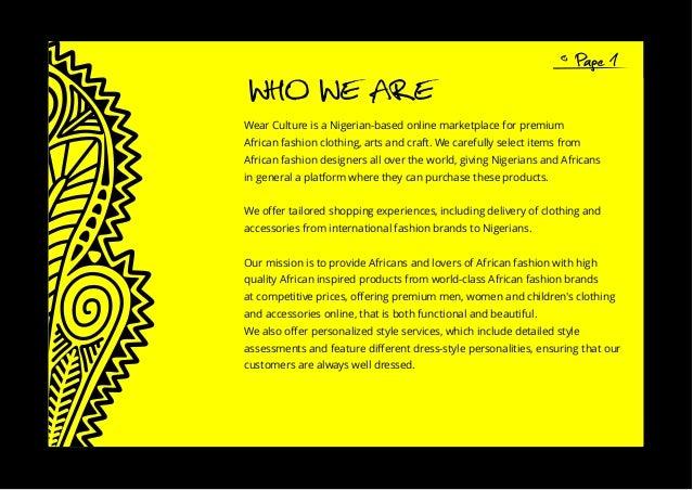 Wearcultue Company Profile