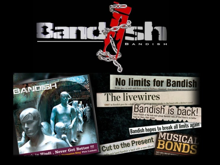 BIOGRAPHYBandish was formed in the year 2006 by one of India's most respected drummer andpercussionist Christopher Powell....