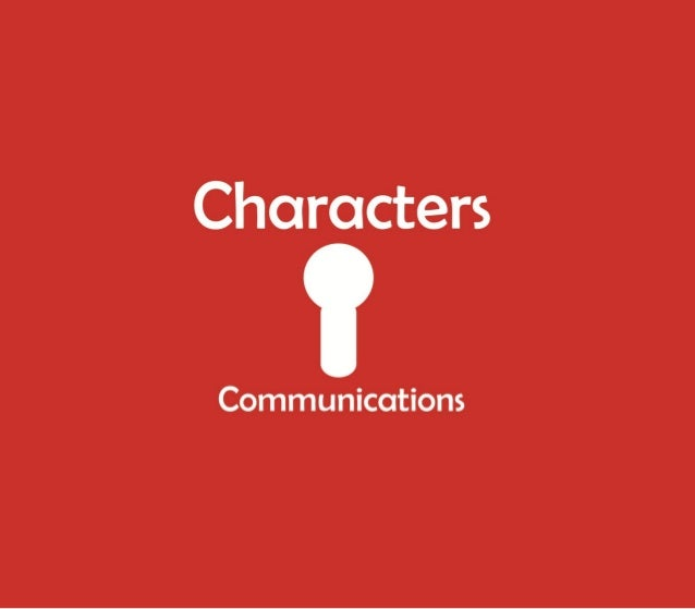 """Characters Communications """"Agency Profile"""""""