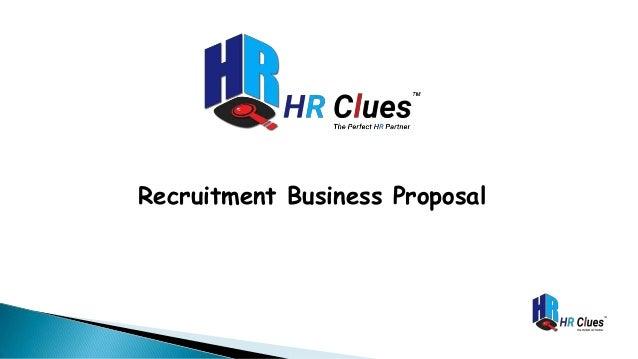 Recruitment Business Proposal
