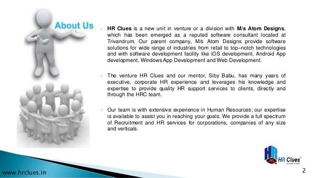 HR Clues Business Proposal  Slide 2