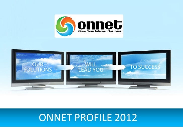 ONNET PROFILE - ENGLISH VERSION