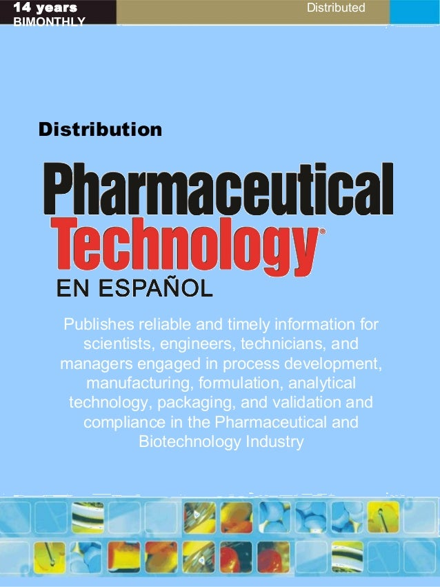 14 years Distributed BIMONTHLY Distribution Publishes reliable and timely information for scientists, engineers, technicia...