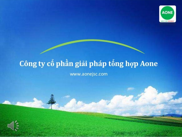 Công ty cổ phần giải pháp tổng hợp Aone www.aonejsc.com
