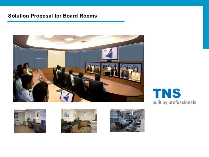 Solution Proposal for Board Rooms