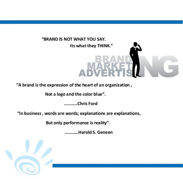 Profile for advertising agency