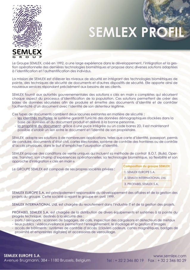 But Carte De Controle.Semlex Presentation Archive