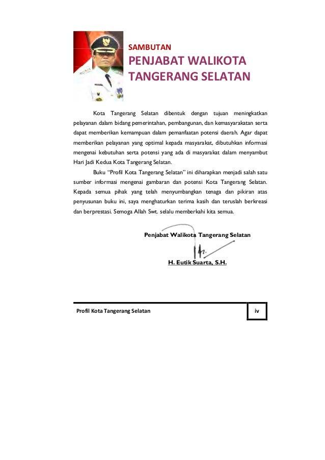 Profil Kota Tangerang Selatan Tahun 2010