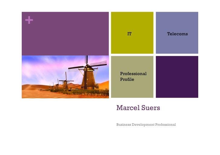 +           IT                    Telecoms           Professional       Profile         Marcel Suers      Business Develop...