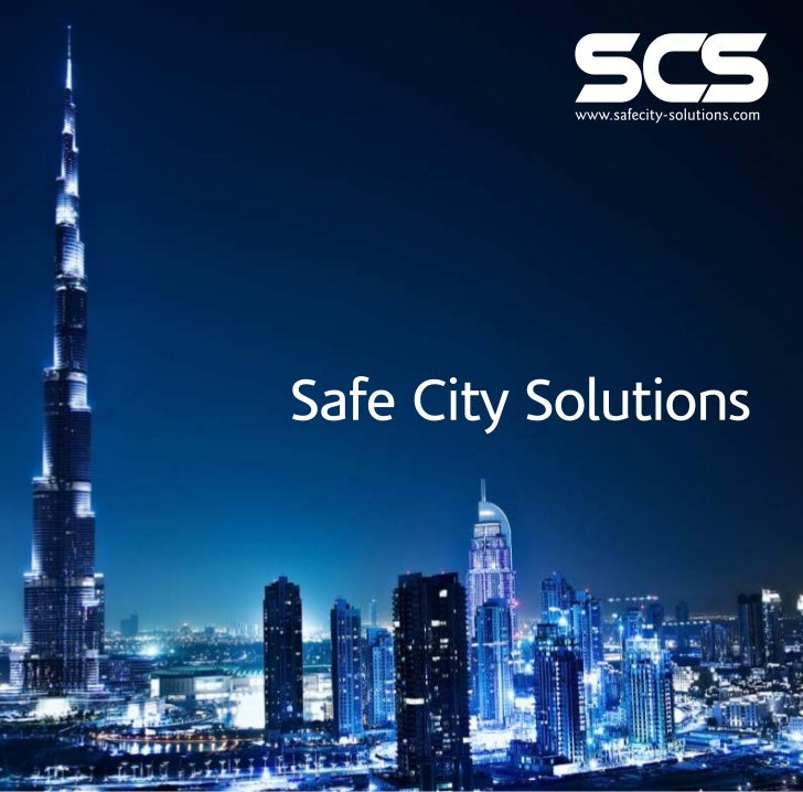 Video surveillance for safer cities essay