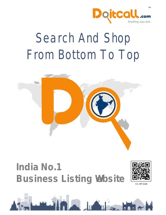 Search And Shop From Bottom To Top Anything Just doit... TM India No.1 Business Listing Website Co. QR Code
