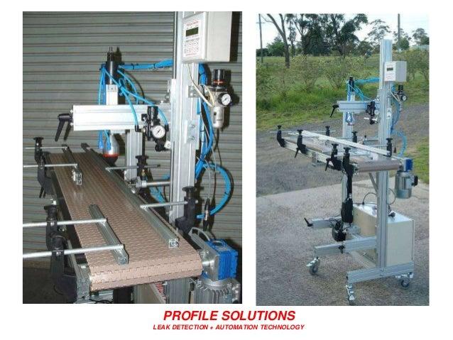 PROFILE SOLUTIONS LEAK DETECTION + AUTOMATION TECHNOLOGY