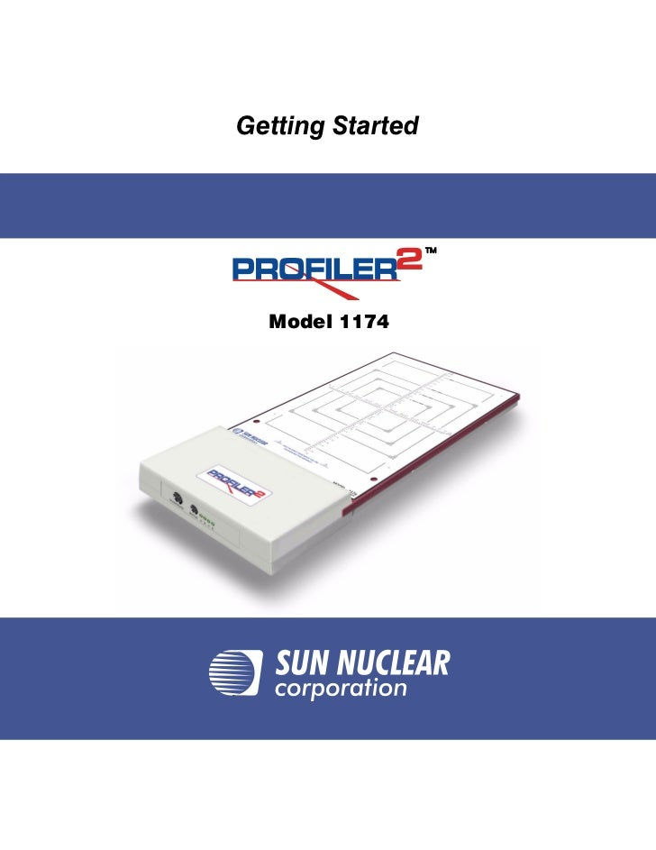 TitleGetting Started                  TM  Model 1174