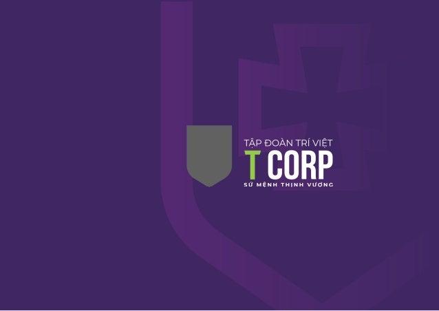 T-Corp - Profile Tập đoàn Trí Việt 2021