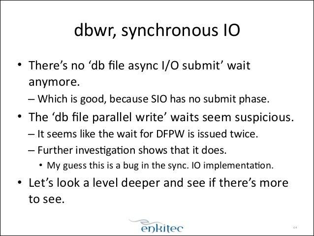 Synchronous vs. Asynchronous Execution