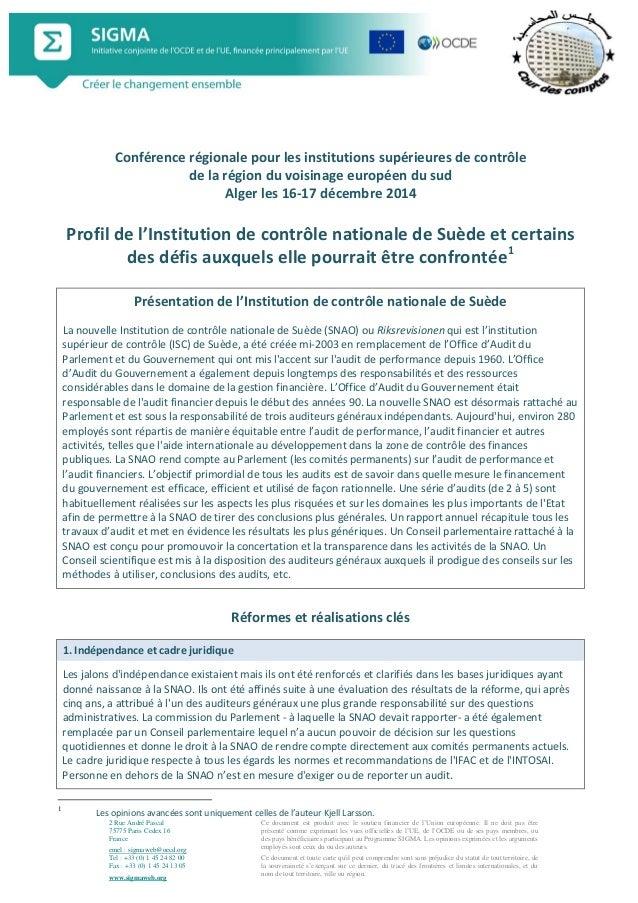 2 Rue André Pascal 75775 Paris Cedex 16 France emel : sigmaweb@oecd.org Tel : +33 (0) 1 45 24 82 00 Fax : +33 (0) 1 45 24 ...