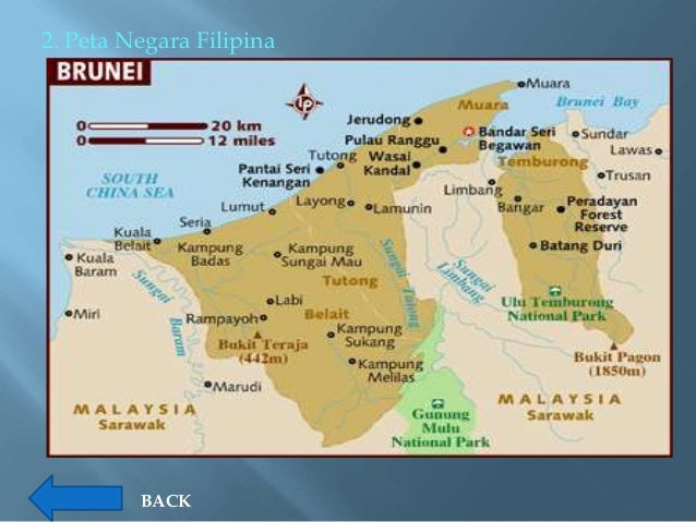 Profil Negara Asean Peta Filipina Gambar
